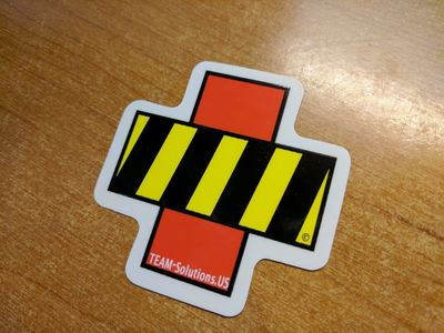TEAM Solutions Decal
