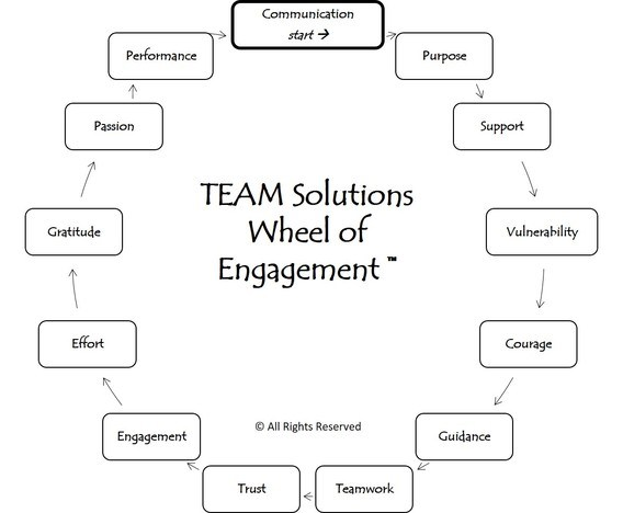 The TEAM Solutions Wheel of Engagement™ course image