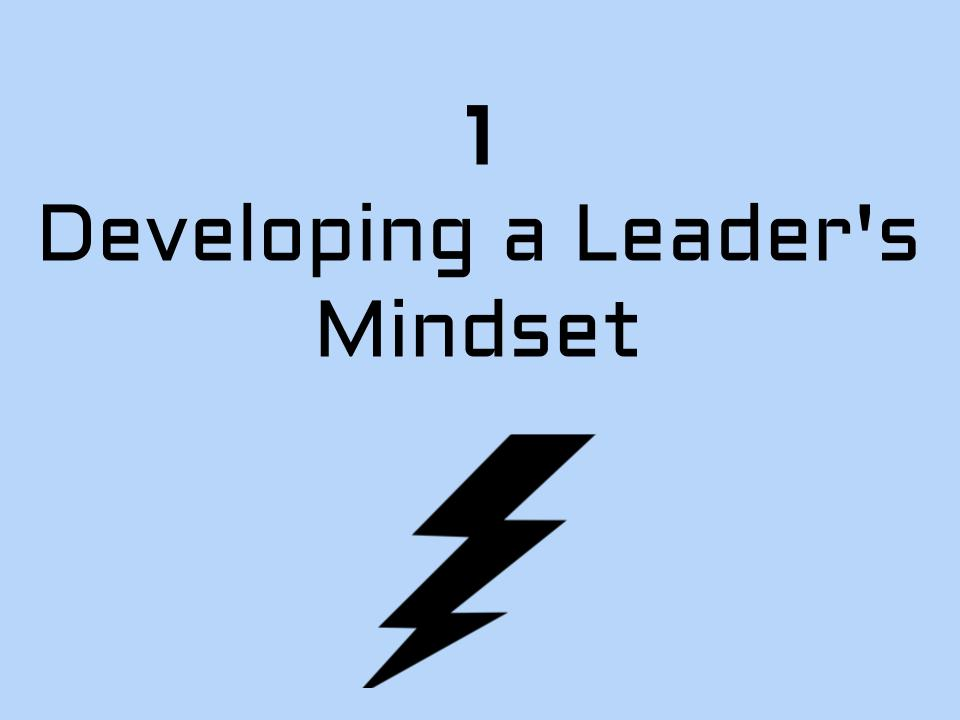 Developing a Leader's Mindset